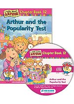 Arthur Chapter Book 12. Arthur and the Popularity Test (Paperback + CD)