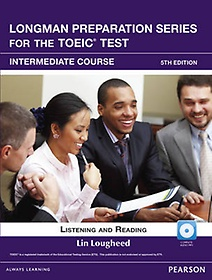"""<font title=""""Longman Preparation Series for the TOEIC Test Intermediate : Student Book (Paperback+CD-ROM&CD/5th Ed.)"""">Longman Preparation Series for the TOEIC...</font>"""