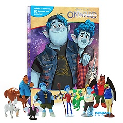 "<font title=""Disney Onward My Busy Books 디즈니 온워드 비지북 (미니피규어 10개 + 놀이판)"">Disney Onward My Busy Books 디즈니 온워...</font>"