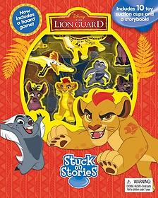 "<font title=""Disney The Lion Guard Stuck on Stories (Board book)"">Disney The Lion Guard Stuck on Stories (...</font>"