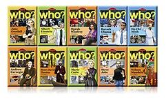 Who? 시리즈 영문판 10권 세트