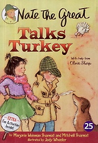 "<font title=""Nate the Great Talks Turkey (Paperback+Audio CD)"">Nate the Great Talks Turkey (Paperback+A...</font>"