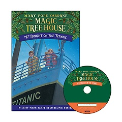 Magic Tree House #17 : Tonight on the Titanic (Paperback+ CD)