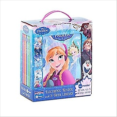 """<font title=""""Disney Frozen Electronic Reader and 8-Book Library (Readers)"""">Disney Frozen Electronic Reader and 8-Bo...</font>"""