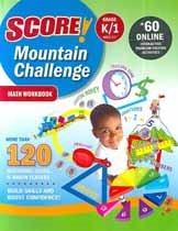 """<font title=""""Score! Mountain Challenge Math - Workbook, Grade K/1 (Paperback)"""">Score! Mountain Challenge Math - Workboo...</font>"""