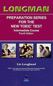 """<font title=""""Longman Preparation Series for the New TOEIC Test Intermediate Course - Audio Tape (Tape:5/ 교재별매/ 4th Ed.)"""">Longman Preparation Series for the New T...</font>"""