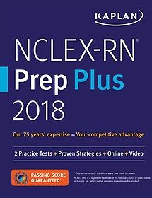 Kaplan NCLEX-RN Prep Plus 2018 (Paperback)