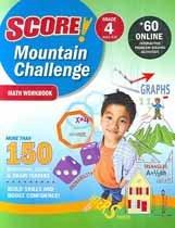 """<font title=""""Score! Mountain Challenge Math - Workbook, Grade 4 (Paperback)"""">Score! Mountain Challenge Math - Workboo...</font>"""