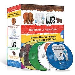 노부영 에릭칼 Bear 4종 세트 (Book: 4+ CD:4)