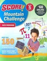 """<font title=""""Score! Mountain Challenge Math - Workbook, Grade 5 (Paperback)"""">Score! Mountain Challenge Math - Workboo...</font>"""