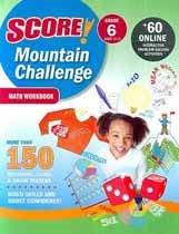 """<font title=""""Score! Mountain Challenge Math - Workbook, Grade 6 (Paperback)"""">Score! Mountain Challenge Math - Workboo...</font>"""