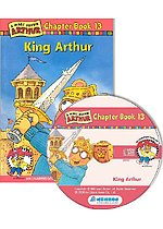 Arthur Chapter Book 13. King Arthur (Paperback + CD)