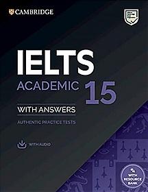 """<font title=""""Cambridge IELTS 15 Academic Student"""