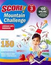 "<font title=""Score! Mountain Challenge Language Arts - Workbook, Grade 3 (Paperback)"">Score! Mountain Challenge Language Arts ...</font>"
