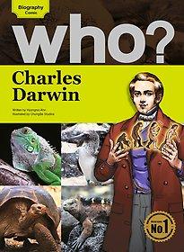 Who? Charles Darwin