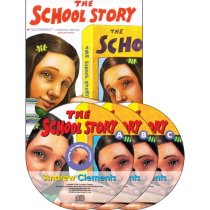 The School Story (Paperback + CD:3)
