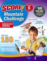 "<font title=""Score! Mountain Challenge Language Arts - Workbook, Grade 6 (Paperback)"">Score! Mountain Challenge Language Arts ...</font>"