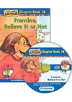 Arthur Chapter Book 14. Francine, Believe It or Not (Paperback + CD)