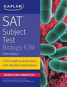 """<font title=""""SAT Subject Test Biology E/M (Paperback / 10th Ed.)"""">SAT Subject Test Biology E/M (Paperback ...</font>"""