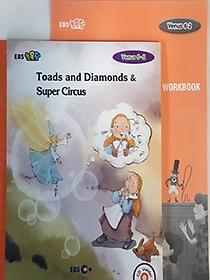 """<font title=""""[EBS 초등영어] EBS 초목달 Venus 6-2 세트 Toads and Diamonds & Super Circus"""">[EBS 초등영어] EBS 초목달 Venus 6-2 세트...</font>"""