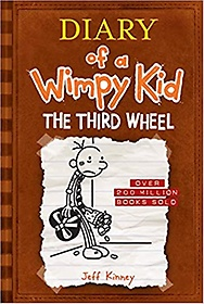"<font title=""Diary of a Wimpy Kid #7: The Third Wheel (Hardcover)"">Diary of a Wimpy Kid #7: The Third Wheel...</font>"