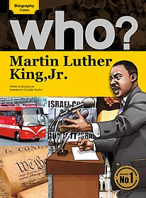 Who? Martin Luther King, Jr.