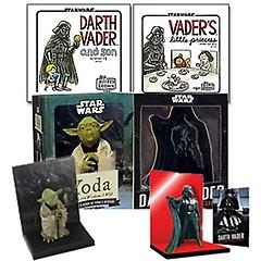 스타워즈:다스 베이더와 아들+스타워즈:베이더의 꼬마 공주님+Yoda/Darth Vader in a Box 패키지