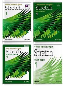 Stretch 1: Student Book+Workbook+Audio CD+Teacher