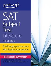 """<font title=""""SAT Subject Test Literature (Paperback / 10th Ed.)"""">SAT Subject Test Literature (Paperback /...</font>"""