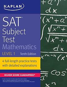 "<font title=""SAT Subject Test Mathematics Level 1 (Paperback / 10th Ed.)"">SAT Subject Test Mathematics Level 1 (Pa...</font>"