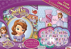 "<font title=""Sofia The First: My First Look & Find Book and Shaped Puzzle Disney Jr. (Board Book)"">Sofia The First: My First Look & Find Bo...</font>"