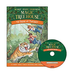Magic Tree House #19 : Tigers at Twilight (Paperback+ CD)