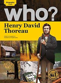 Who? Henry David Thoreau