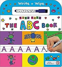 The ABC Book: Write + Wipe (Board book)