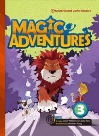 "<font title=""Magic Adventures 3 : Story Book + Audio CD:3 (Paperback, 학부모가이드/단어카드 포함)"">Magic Adventures 3 : Story Book + Audio ...</font>"
