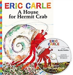 A House for Hermit Crab (Paperback+CD)