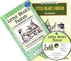 Little Bear's Friend - I Can Read Book Workbook Set Level 1 (Paperback + Workbook + CD)
