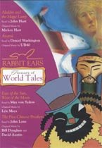 Rabbit Ears Treasury of World Tales (Audio CD, Unabridged, 도서별매)