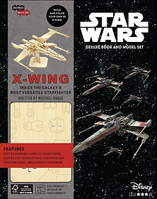 """<font title=""""Incredibuilds Star Wars X-wing Deluxe Book and Model Set (Hardcover)"""">Incredibuilds Star Wars X-wing Deluxe Bo...</font>"""