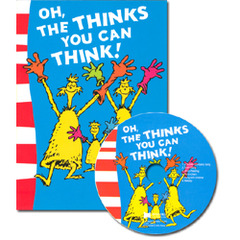 [��ο�]Oh, the Thinks You Can Think! (Paperback+ CD)