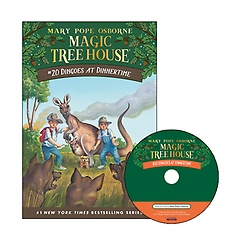 Magic Tree House #20 : Dingoes at Dinnertime (Paperback+ CD)