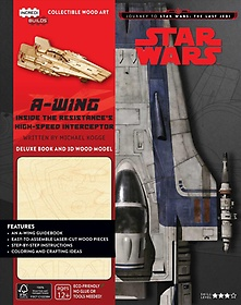 """<font title=""""Journey to Star Wars: the Last Jedi A-wing Deluxe Book and Model Set (Hardcover) - Vol. 2"""">Journey to Star Wars: the Last Jedi A-wi...</font>"""