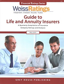 "<font title=""Weiss Ratings Guide to Life & Annuity Insurers, Fall 2017 (Paperback)"">Weiss Ratings Guide to Life & Annuity In...</font>"