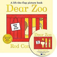 "<font title=""노부영 Dear Zoo : Lift-the-Flap (원서 & CD) (Paperback + CD)"">노부영 Dear Zoo : Lift-the-Flap (원서 & ...</font>"