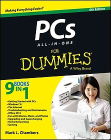 "<font title=""Pcs All-in-one for Dummies (Paperback / 6th Ed.)"">Pcs All-in-one for Dummies (Paperback / ...</font>"