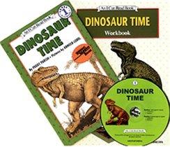 Dinosaur Time - I Can Read Book Workbook Set Level 1 (Paperback + Workbook + CD)