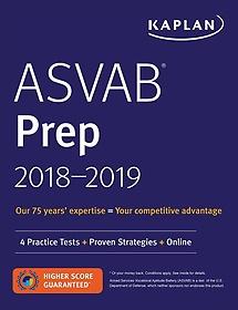 Kaplan Asvab Prep 2018-2019 (Paperback)