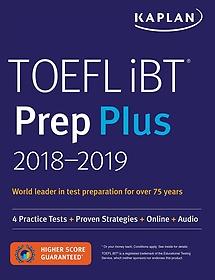 """<font title=""""Kaplan Toefl Ibt Prep Plus 2018-2019 (Paperback)"""">Kaplan Toefl Ibt Prep Plus 2018-2019 (Pa...</font>"""
