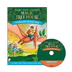 Magic Tree House #01: Dinosaurs Before Dark (Paperback+CD)