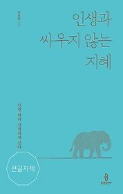 인생과 싸우지 않는 지혜 (큰글자책)